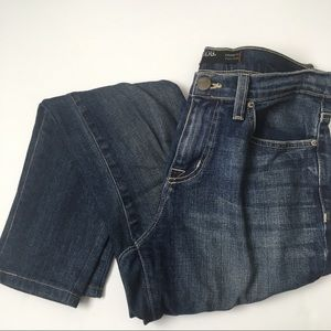 BDG DISTRESSED high rise cigarette jeans
